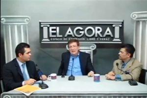 Entrevista a Miguel Salinas Chávez en el programa El Ágora - Agosto 2016
