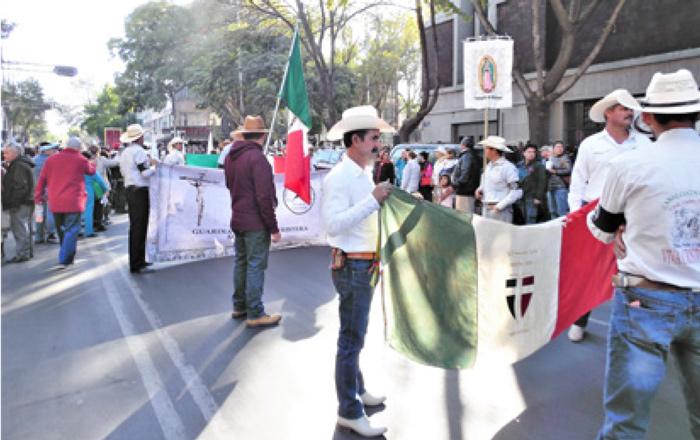 Toma Espiritual de Ciudad de México 10 de Diciembre de 2017. - Foto: Archivo BIIE.