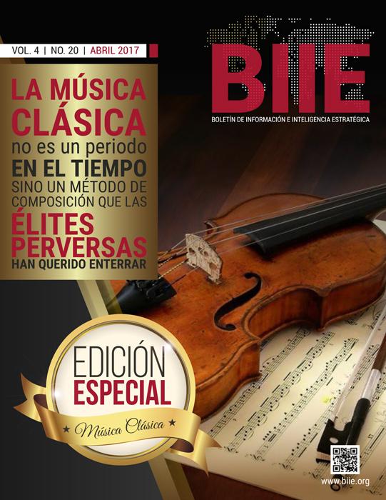 BIIE Vol.04 No.20 - Abril 2017 Edición Especial Música Clásica