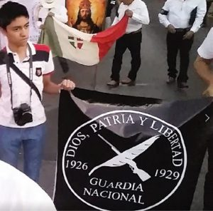 Guardia Nacional Cristera bandera