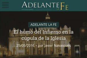 El mundialmente famoso sitio católico de internet español, Adelante la Fe, entrevista al fundador del BIIE