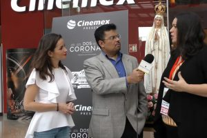 Entrevista con las representantes de la película Las Dos Coronas - Vida de San Maximiliano Kolbe