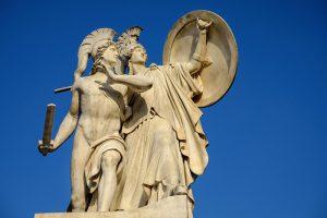 Si Atenas derrotó a los Atlantes hace 12,000 años y salvó al mundo según cuenta Platón, ¿podrá ahora aliada con Rusia, derrotar a Estados Unidos y a la Unión Europea y salvar al mundo de nuevo?