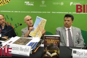 """Presentación del libro """"Secreto Biblia"""" de Leopoldo Mendívil - FIL 2018"""