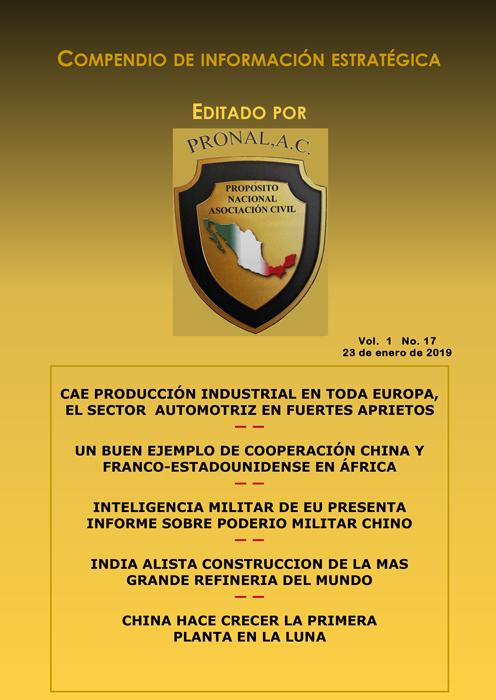Compendio de Información Estratégica Vol.01 No.17 – 23 de Enero de 2019
