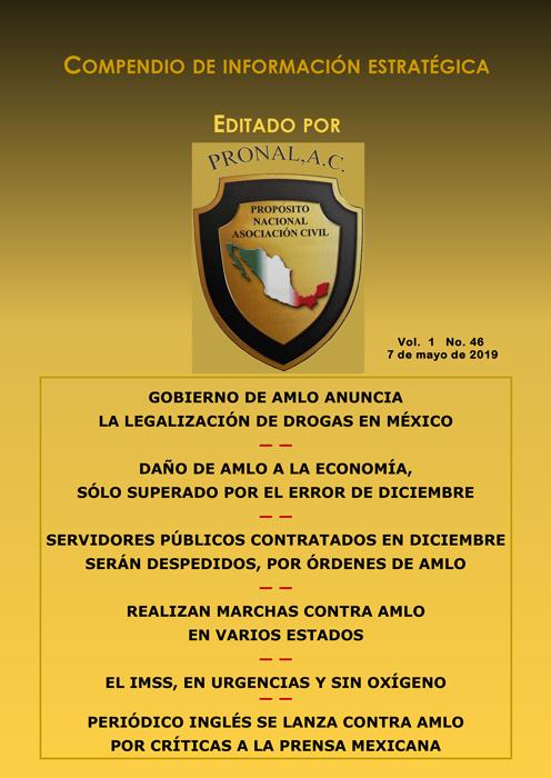Compendio de Información Estratégica Vol.01 No.46 – 07 de Mayo de 2019
