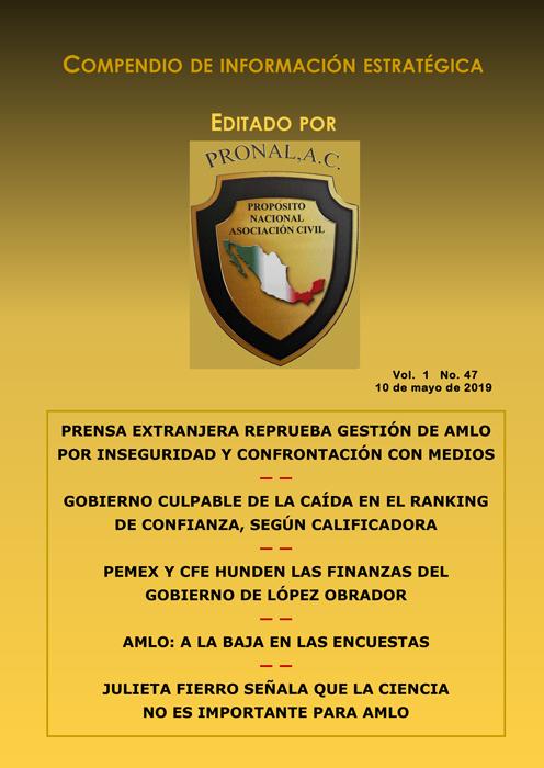 Compendio de Información Estratégica Vol.01 No.47 - 10 de Mayo de 2019