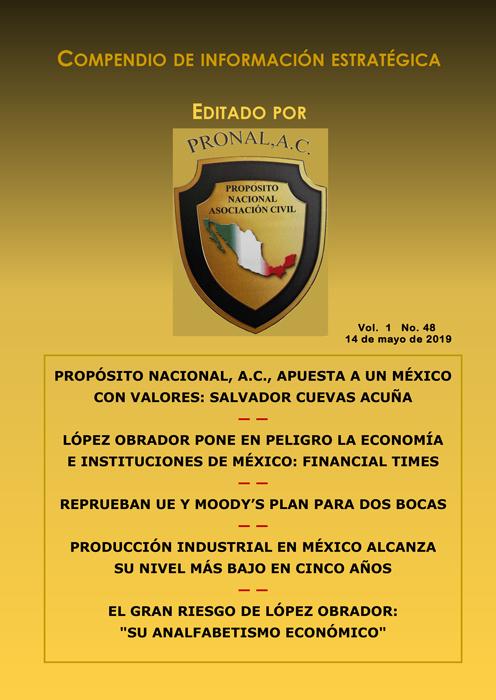 Compendio de Información Estratégica Vol.01 No.48 – 14 de Mayo de 2019