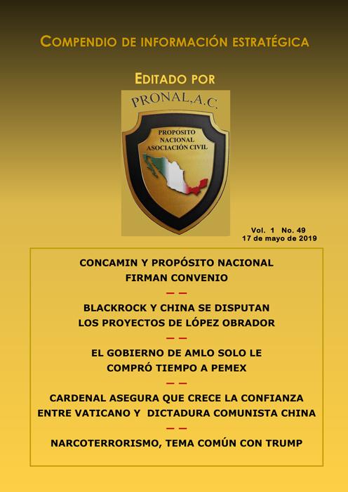 Compendio de Información Estratégica Vol.01 No.49 – 17 de Mayo de 2019