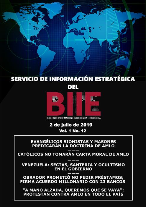 Servicio de Información Estratégica Vol.01 No.12 - 02 de Julio de 2019
