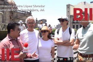 Marcha contra López Obrador 30 de Junio de 2019, Guadalajara, Jalisco