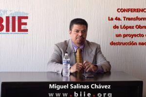 """Conferencia """"La 4ª Transformación de López Obrador, un proyecto de destrucción nacional"""""""