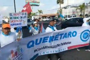Marcha a favor de la vida en Querétaro - Sábado 21 de Septiembre - 1