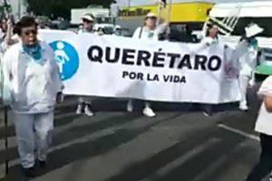 Marcha a favor de la vida en Querétaro - Sábado 21 de Septiembre - 2