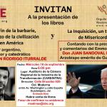 Invitación a la presentación de los libros de Cristian Iturralde