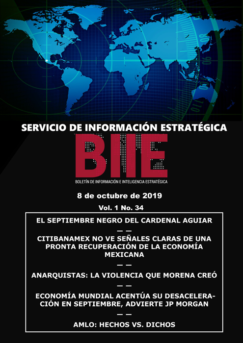 Servicio de Información Estratégica Vol.01 No.34 - 08 de Octubre de 2019
