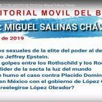 «Editorial Móvil» del BIIE – 27 de Agosto de 2019 con Miguel Salinas Chávez