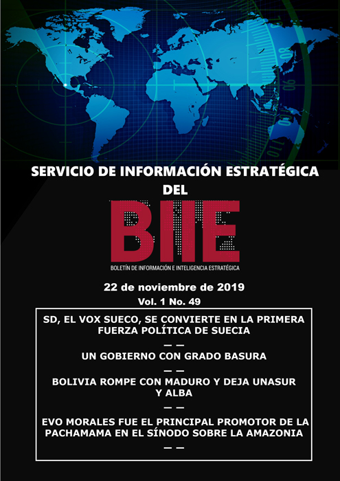 Servicio de Información Estratégica Vol.01 No.49 - 22 de Noviembre de 2019
