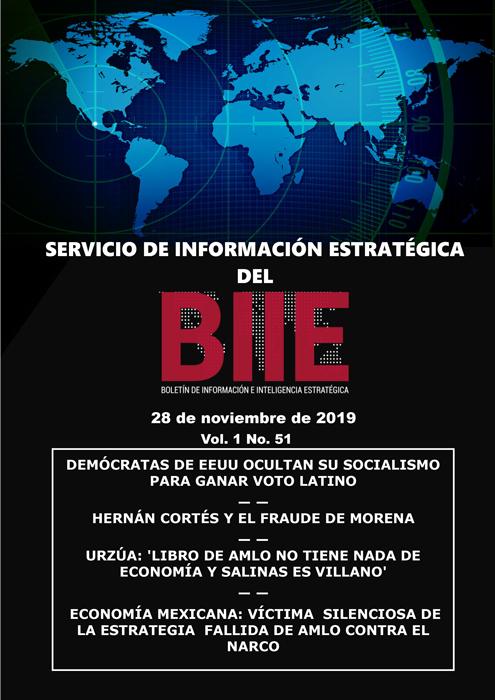 Servicio de Información Estratégica Vol.01 No.51 – 28 de Noviembre de 2019