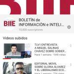 Alcanzamos los 10.000 suscriptores en YouTube