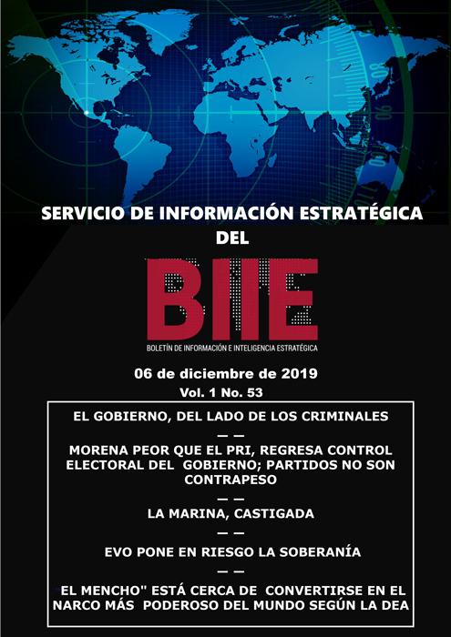 Servicio de Información Estratégica Vol.01 No.53 – 06 de Diciembre de 2019