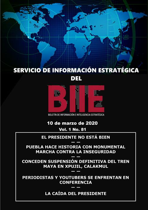 Servicio de Información Estratégica Vol.01 No.81 – 10 de Marzo de 2020