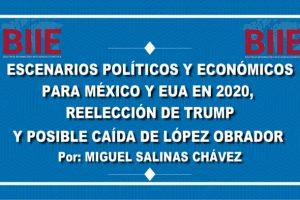 Escenarios políticos y económicos de México y EUA 2020, reelección de Trump y caída de López Obrador