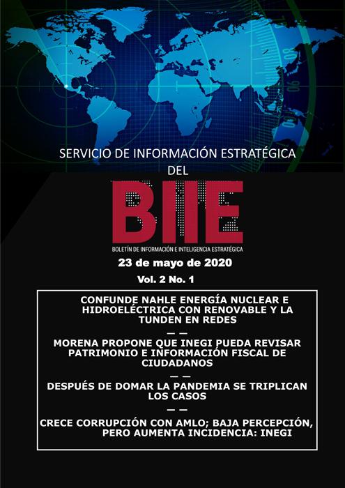 Servicio de Información Estratégica Vol.02 No.01 – 23 de Mayo de 2020