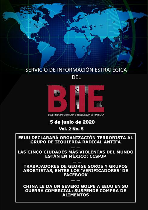 Servicio de Información Estratégica Vol.02 No.05 – 05 de Junio de 2020