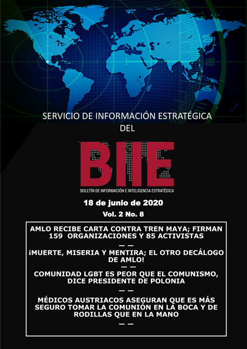 Servicio de Información Estratégica Vol.02 No.08 – 18 de Junio de 2020