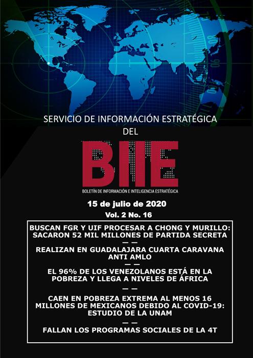 Servicio de Información Estratégica Vol.02 No.16 - 15 de Julio de 2020