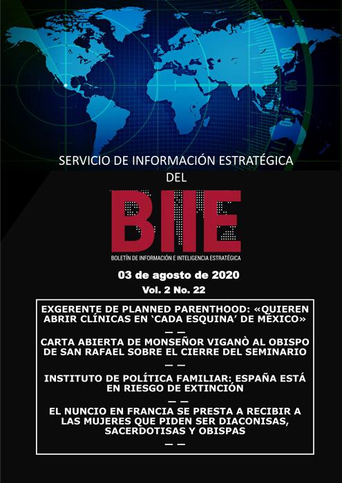 Servicio de Información Estratégica Vol.02 No.22 - 03 de Agosto de 2020