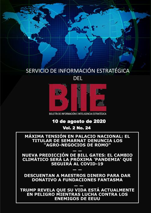 Servicio de Información Estratégica Vol.02 No.24 - 10 de Agosto de 2020