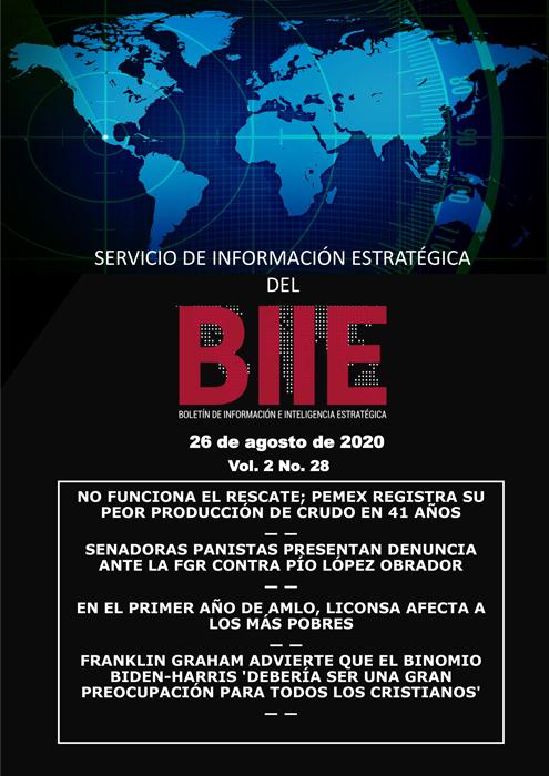 Servicio de Información Estratégica Vol.02 No.28 - 26 de Agosto de 2020