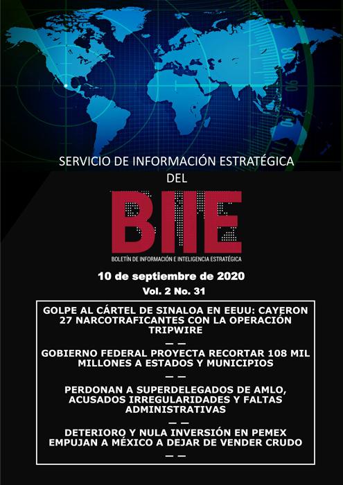 Servicio de Información Estratégica Vol.02 No.31 - 10 de Septiembre de 2020