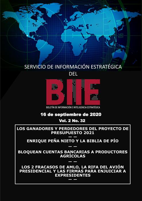 Servicio de Información Estratégica Vol.02 No.32 - 16 de Septiembre de 2020