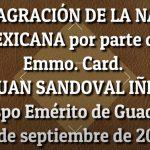 Consagración de la Nación Mexicana  por el Cardenal Don Juan Sandoval, 15 de septiembre de 2020