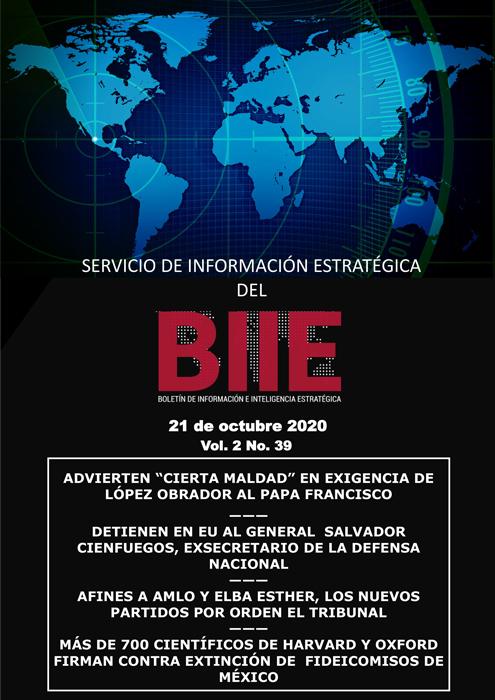 Servicio de Información Estratégica Vol.02 No.39 - 21 de Octubre de 2020