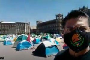 Conociendo el Campamento, primeras impresiones del Campamento de FRENAAA de la Ciudad de México