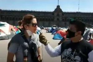 Testimonios y entrevistas a participantes del campamento de FRENAAA que vienen hasta de España