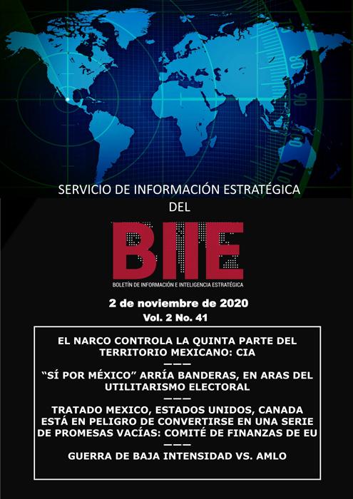 Servicio de Información Estratégica Vol.02 No.41 - 02 de Noviembre de 2020