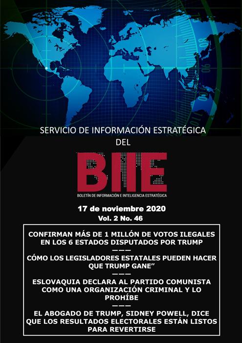 Servicio de Información Estratégica Vol.02 No.46 - 17 de Noviembre de 2020